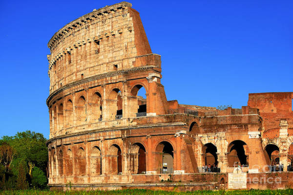 Wall Art - Photograph - Spectacular Colosseum Colors by Stefano Senise
