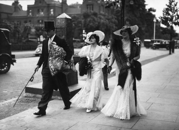 Spectator Photograph - Spectator Wear I by J A Hampton