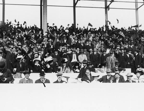 Spectator Photograph - Spectators At Fenway Park by Fpg