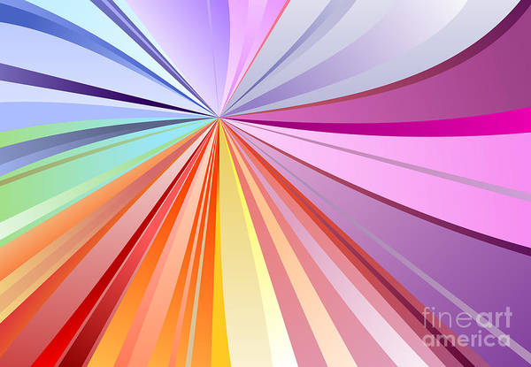 Wall Art - Digital Art - Spectrum Background by Osov