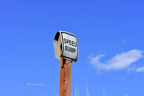 Wall Art - Photograph - Speed Bump by Kae Cheatham