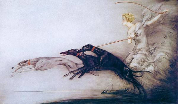 Wall Art - Painting - Speed - Digital Remastered Edition by Louis Icart