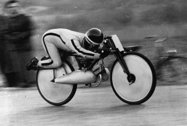 Motorcycle Racing Photograph - Speed Record by Keystone