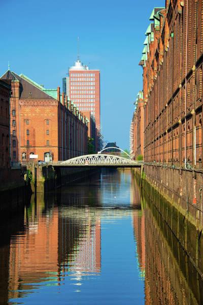 Wall Art - Photograph - Speicherstadt Hamburg Germany Vertical by Matthias Hauser