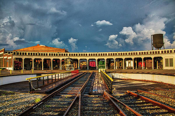 Photograph - Spencer Shops Roundhouse by Dale R Carlson