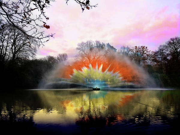 Photograph - Spewing Colour by Scott Lyons