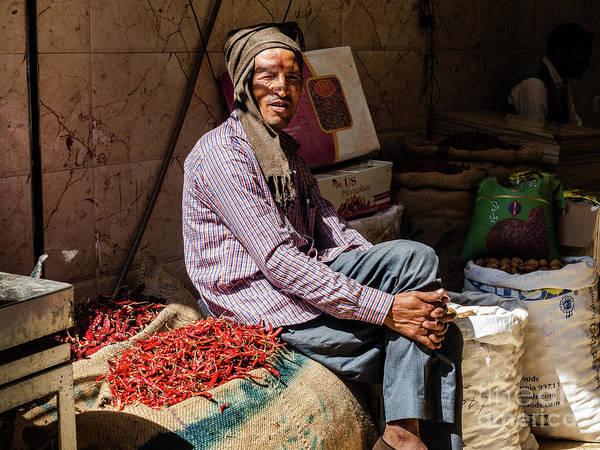 Photograph - Spice Man by Robin Zygelman