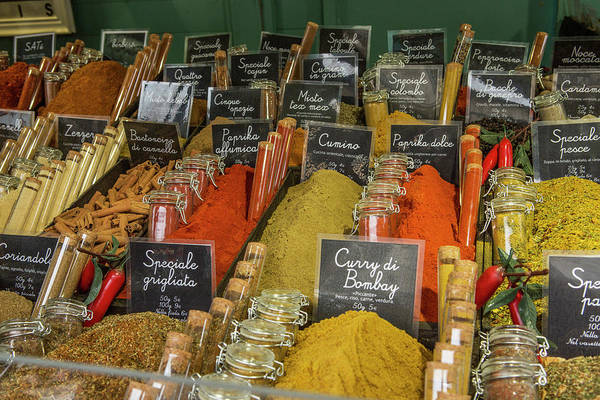 Wall Art - Photograph - Spice Market In Firenze Italy by Iris Richardson