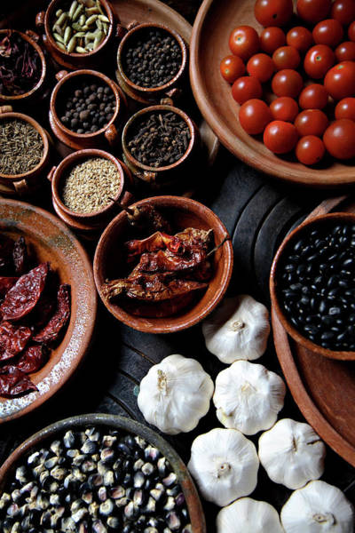 Wall Art - Photograph - Spices And Other Seasonings At La Fonda by Diego Lezama