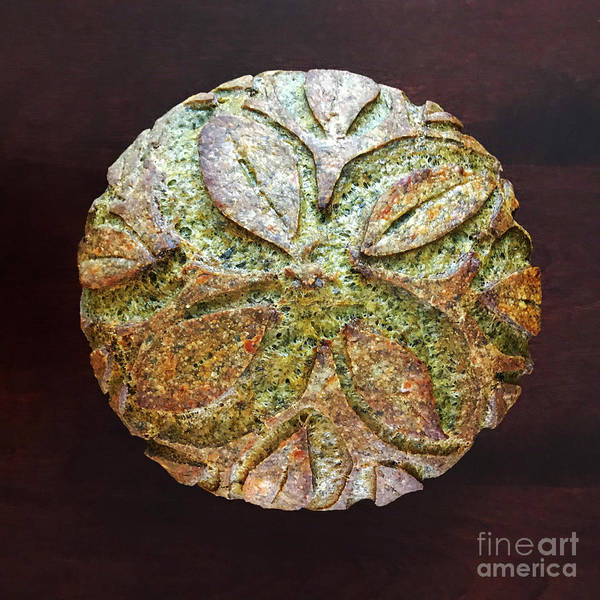 Spicy Spinach Sourdough Art Print