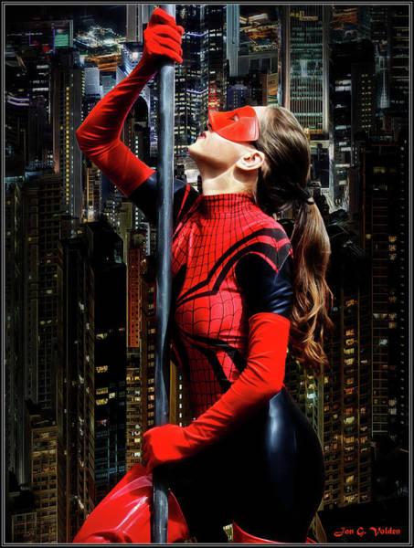 Photograph - Spider Ascending by Jon Volden