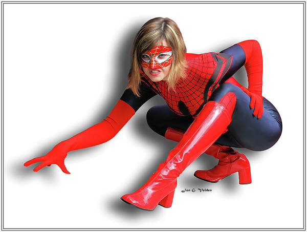 Photograph - Spider Crawl by Jon Volden
