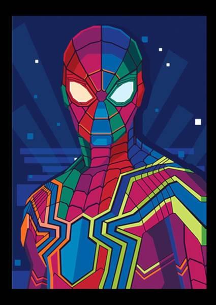 Wall Art - Digital Art - Spider by Kevin C Hernandez