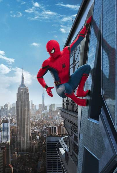 Spider-man Homecoming Art Print
