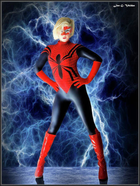 Photograph - Spider Power by Jon Volden