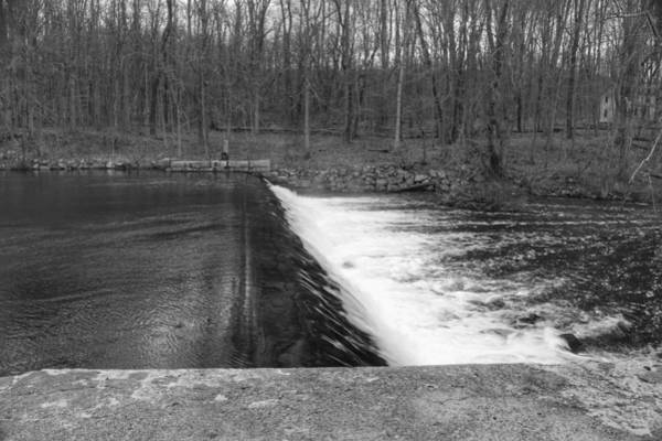 Photograph - Spillway At Waterloo Village by Christopher Lotito
