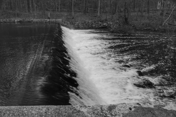 Photograph - Spillway In Detail - Waterloo Village by Christopher Lotito
