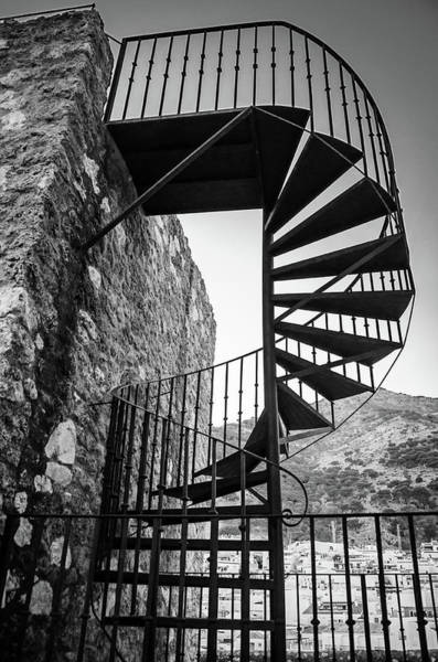 Photograph - Spiral Staircase by Borja Robles
