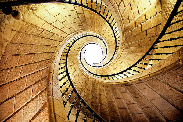 Wall Art - Photograph - Spiral Staircase by Orbon Alija
