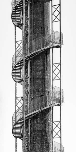 Wall Art - Photograph - Spiral Staircase by Tom Mc Nemar