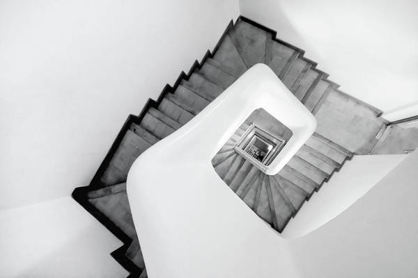 Photograph - Spiral Stairs by Beatriz Pitarch