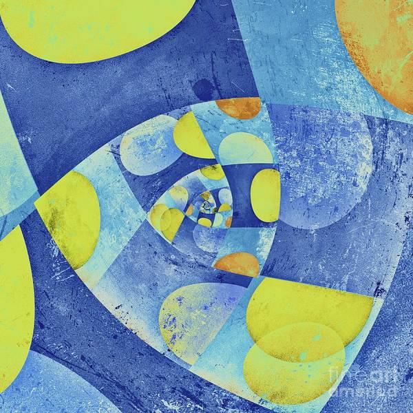 Wall Art - Digital Art - Spirali - 01c22b by Variance Collections