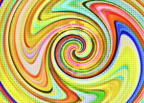 Photograph - Spiraling Glass Art by JAMART Photography