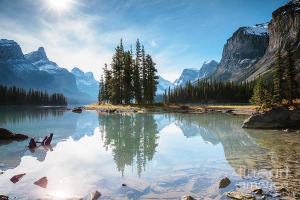 Wall Art - Photograph - Spirit Island, Jasper, Canada by Matteo Colombo