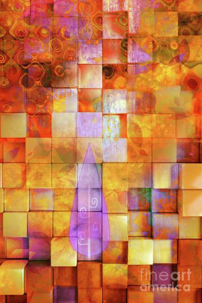 Color Block Mixed Media - Spirit Abstract by Jacky Gerritsen