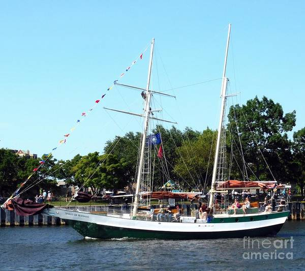 Photograph - Spirit Of Buffalo Tall Ship Buffalo Ny 2019 by Rose Santuci-Sofranko