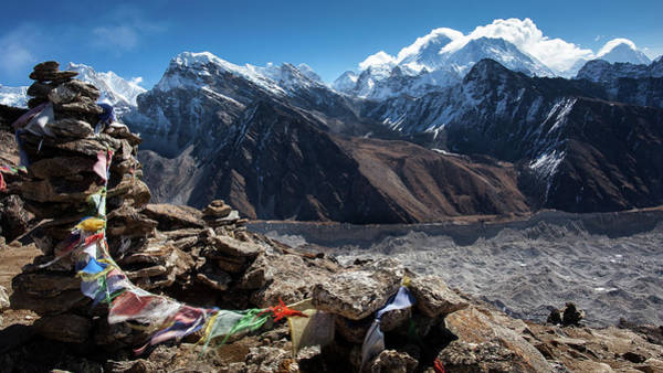 Gokyo Photograph - Spirit Of The Himalayas by Presented By Zolashine