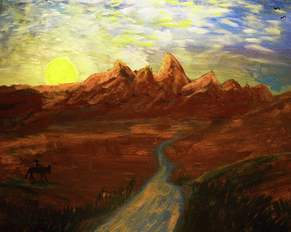 Painting - Spirit Of Wyoming by Chance Kafka