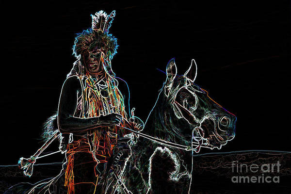 Photograph - Spirit Warrior by Jim Garrison