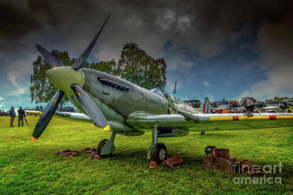 Photograph - Spitfire Display by Adrian Evans