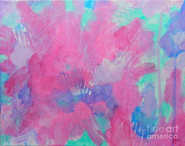 Wall Art - Painting - Splash Of Spring by Kate Marion Lapierre