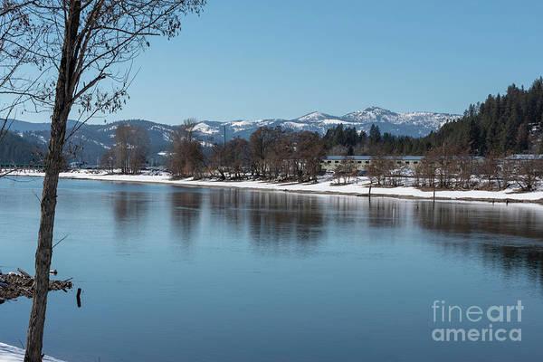 Photograph - Spokane River Shore by Matthew Nelson