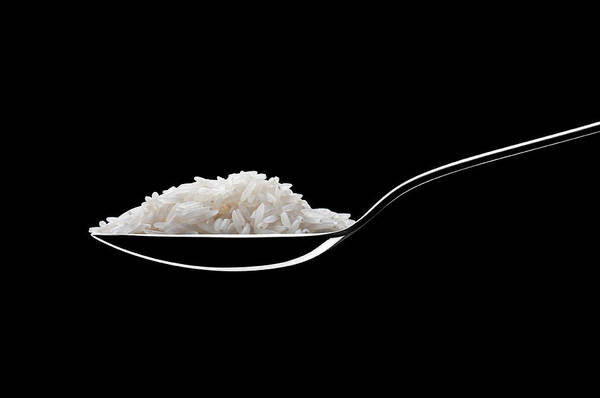 German Food Photograph - Spoon With Rice by Daitozen