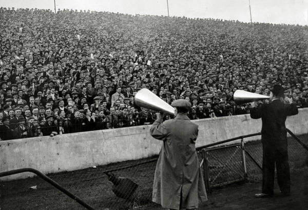 Sport Venue Photograph - Sport. Football. Pic 12th October 1935 by Popperfoto