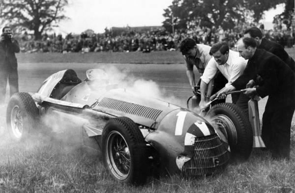Motor Sport Photograph - Sport. Motor Racing. Formula One. Pic by Popperfoto