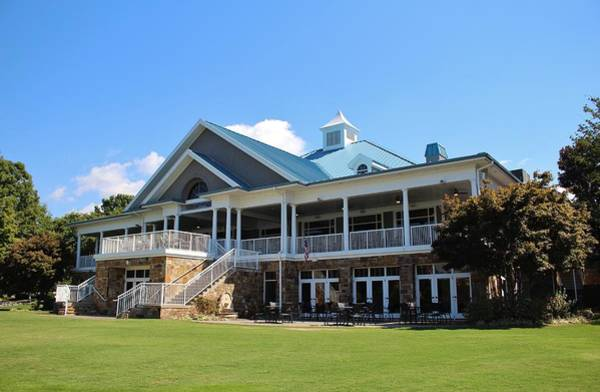 Photograph - Sports Club Building by Cynthia Guinn