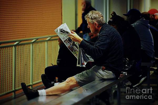 Photograph - Sports Half-time by Frank J Casella