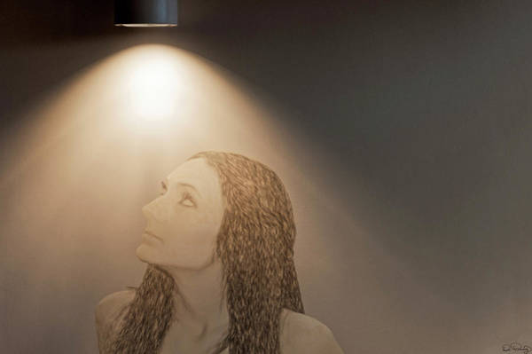 Art Print featuring the photograph Spot Light by Dee Browning