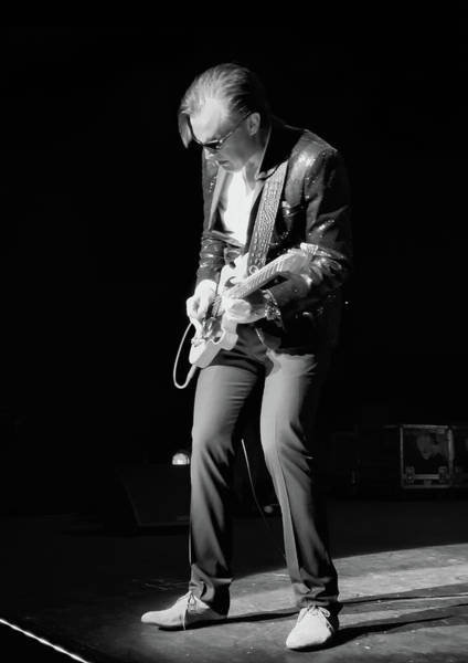 Stratocaster Photograph - Spotlight Joe Bonamassa by Peter Chilelli