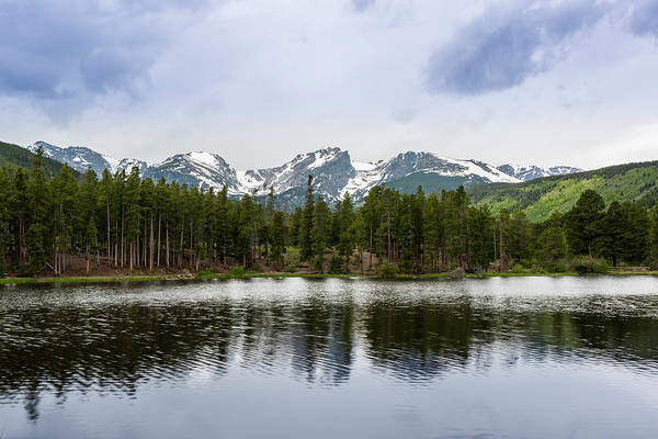 Photograph - Sprague Lake by David Morefield