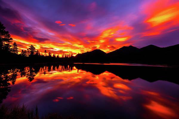 Photograph - Sprague Lake Sunrise by Gary Kochel
