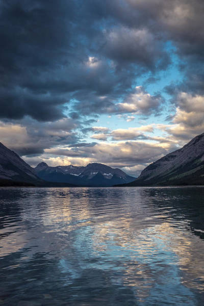 Canmore Wall Art - Photograph - Spray Valley Lake Reflection, Alberta by Howie Garber