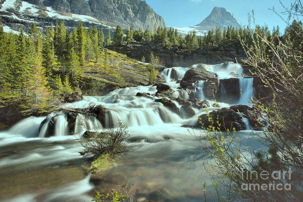 Photograph - Spring 2019 At Red Rock Falls by Adam Jewell