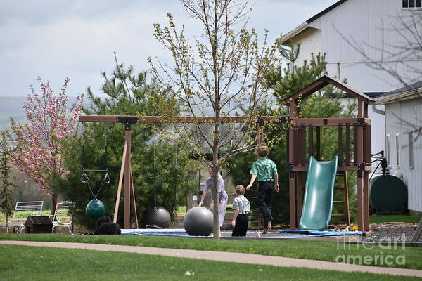 Photograph - Spring Afternoon Fun by Christine Clark