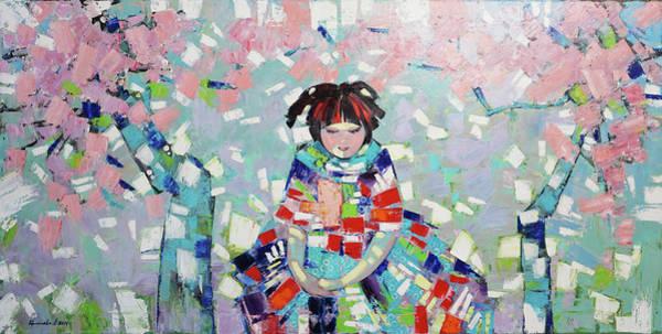Wall Art - Painting - Spring by Anastasija Kraineva