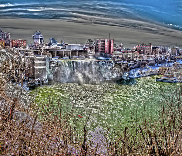 Wall Art - Photograph - Spring At High Falls by William Norton